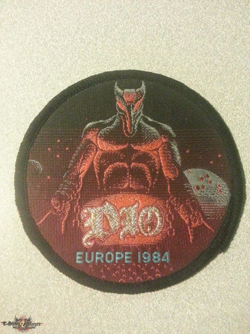 DIO - Europe Tour Patch for LuLu