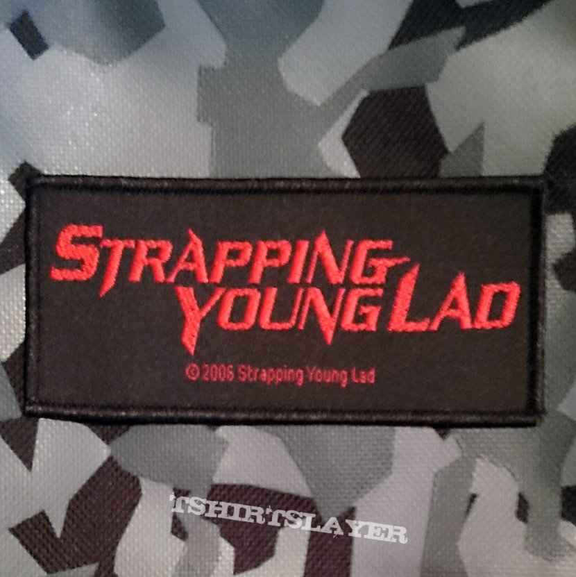 Strapping Young Lad - logo patch - 2006
