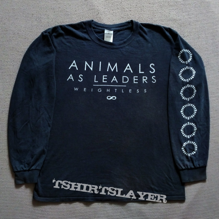 Animals As Leaders 2011 Weightless Ls Tshirtslayer Tshirt