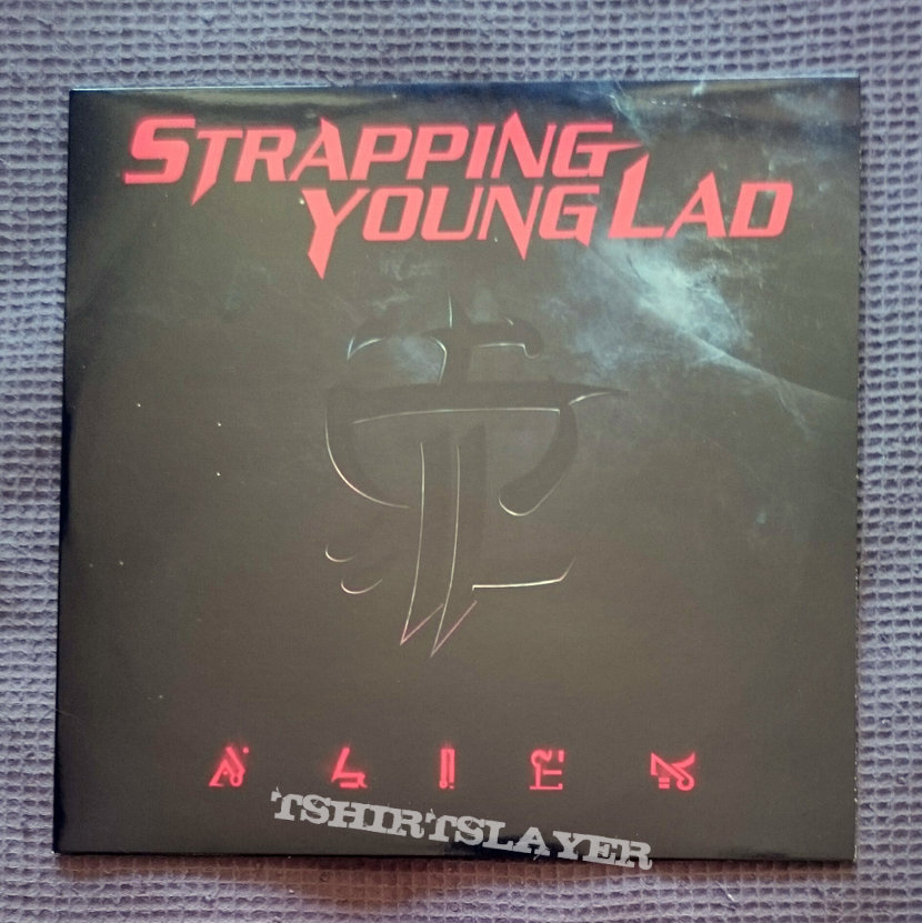 """Strapping Young Lad - 2005 - Alien 10"""" LP [Alien Green]"""