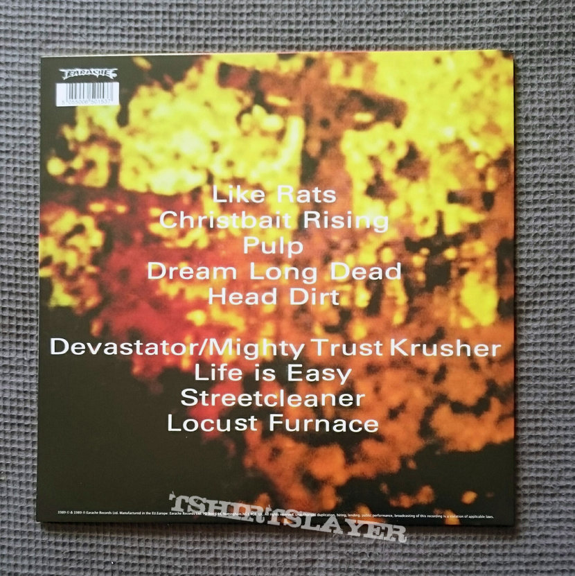 Godflesh - Streetcleaner LP [clear]