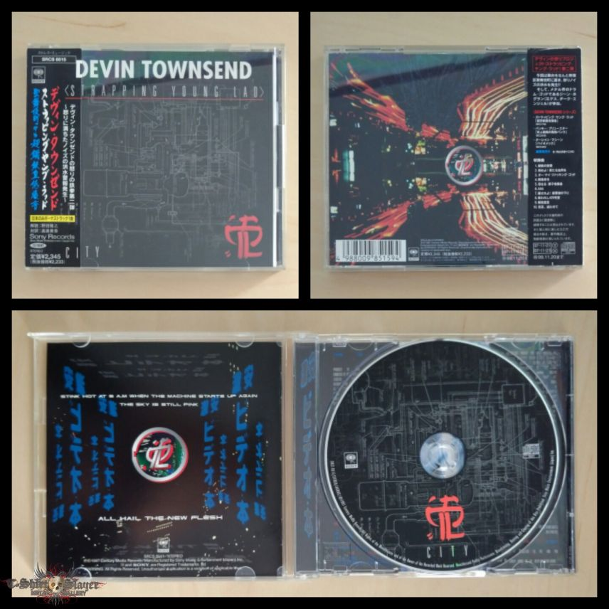 Strapping Young Lad - 1997 - City Jap CD