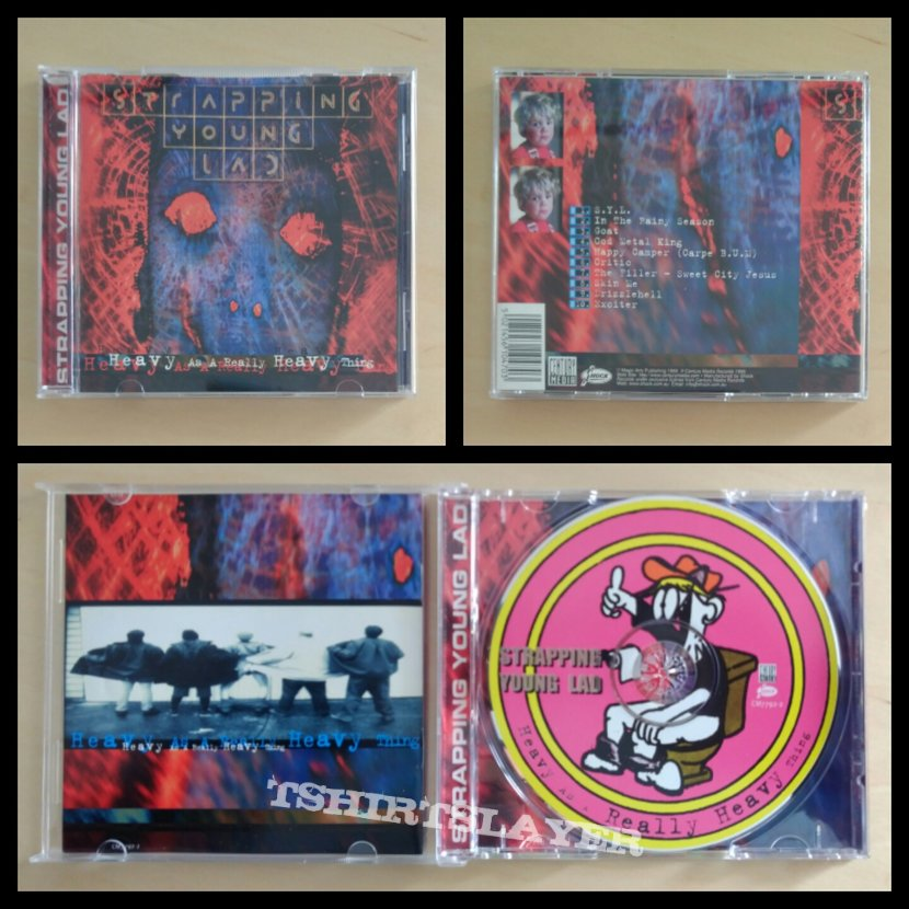 Strapping Young Lad - 1995 - Heavy as a Really Heavy Thing CD