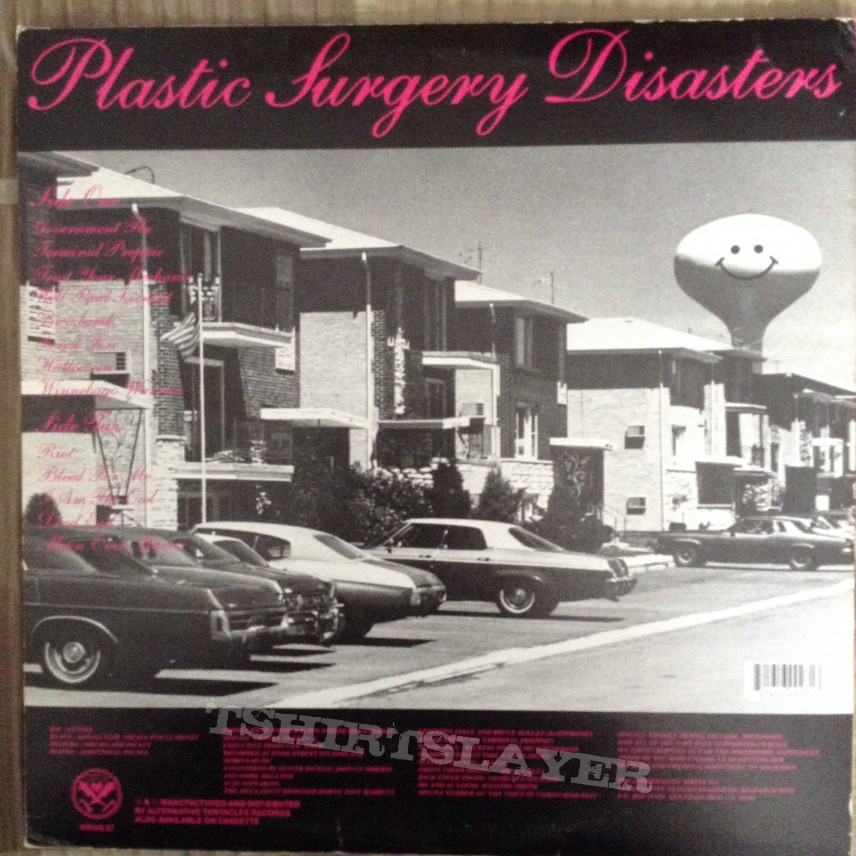 Dead Kennedys - Plastic Surgery Disasters (Reissue)
