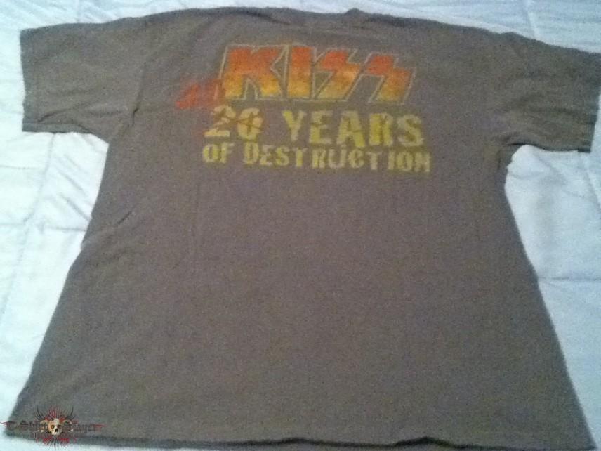 KISS - 30 Years of Destruction Shirt