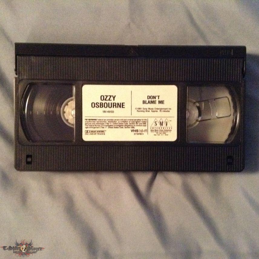 Ozzy Osbourne - Don't Blame Me VHS