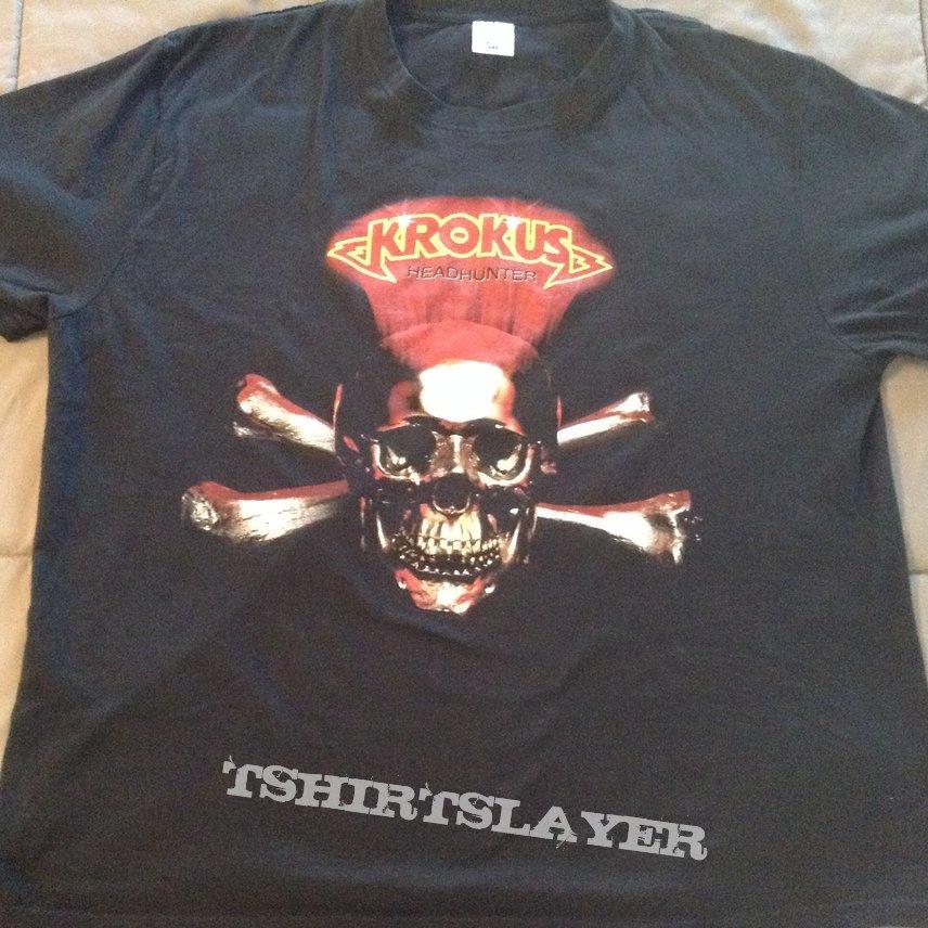 Krokus - Headhunter World Tour '83 shirt