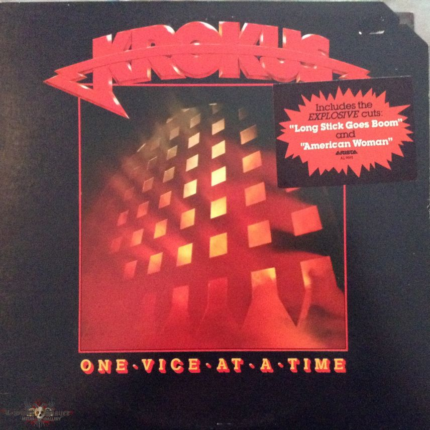 Krokus - One Vice at a Time (Promo Copy)