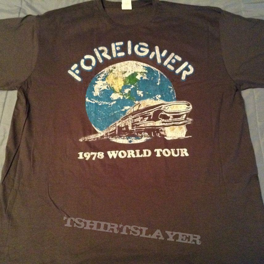 Foreigner - 1978 World Tour shirt