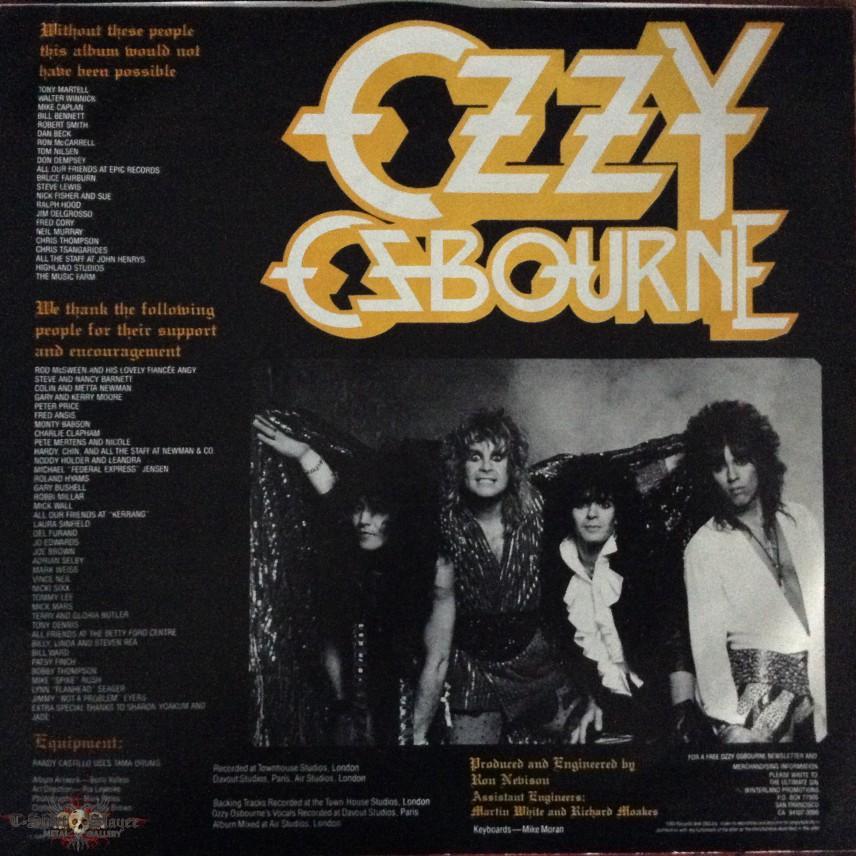 Joecubbie's Ozzy Osbourne, Ozzy Osbourne