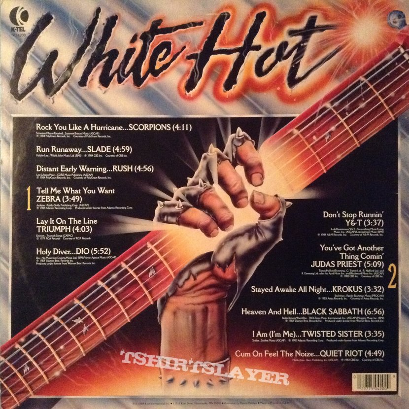 Various Artists - White Hot: Masters of Metal