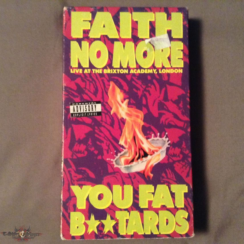Faith No More - You Fat Bastards: Live at the Brixton Academy VHS