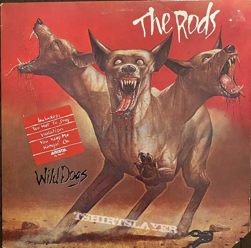 The Rods - Wild Dogs (Promo Copy)