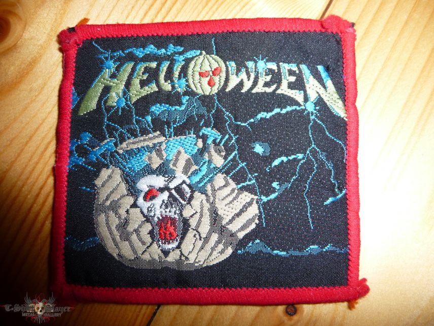 "HELLOWEEN ""Helloween (EP)"" red border patch"