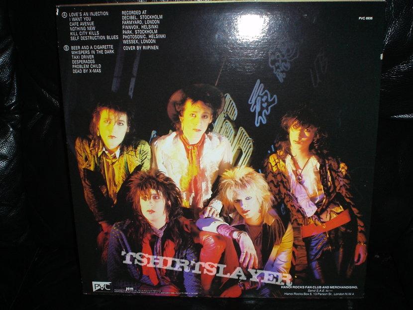 Hanoi Rocks - Self Destruction Blues LP