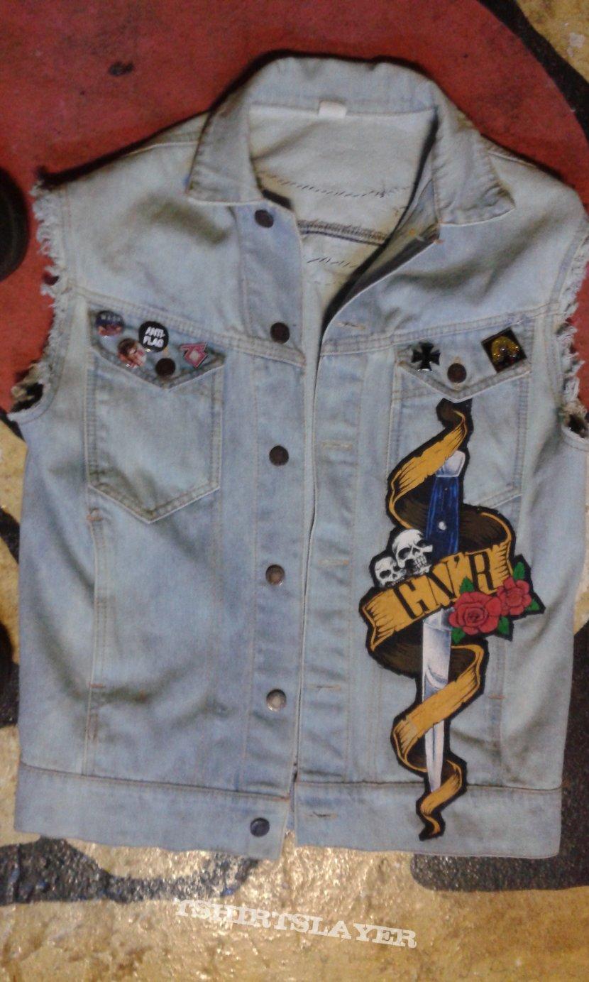 Leftover patch vest