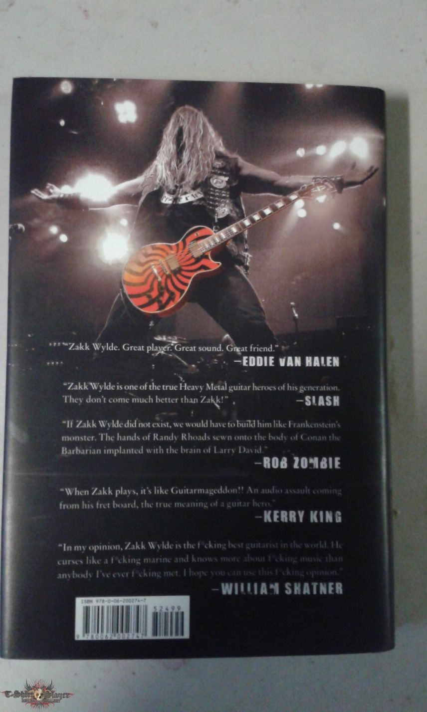 Zakk Wylde - Bringing Metal To The Children Book