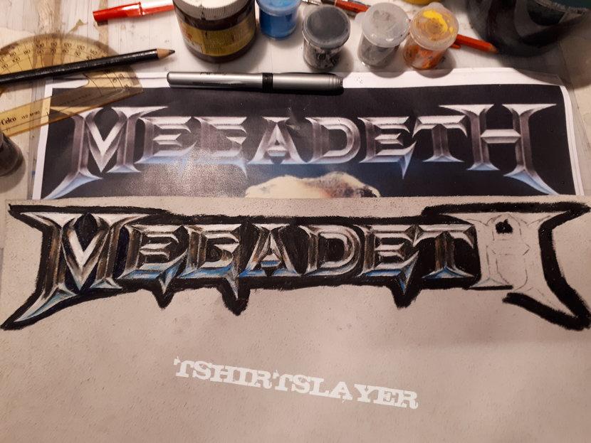 Megadeth - Diy backpatch