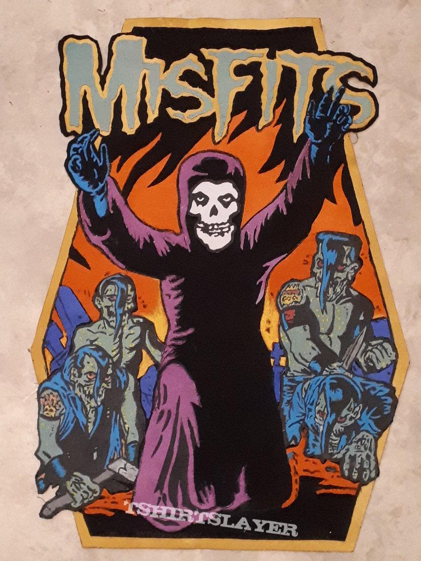 Misfits back patch Diy