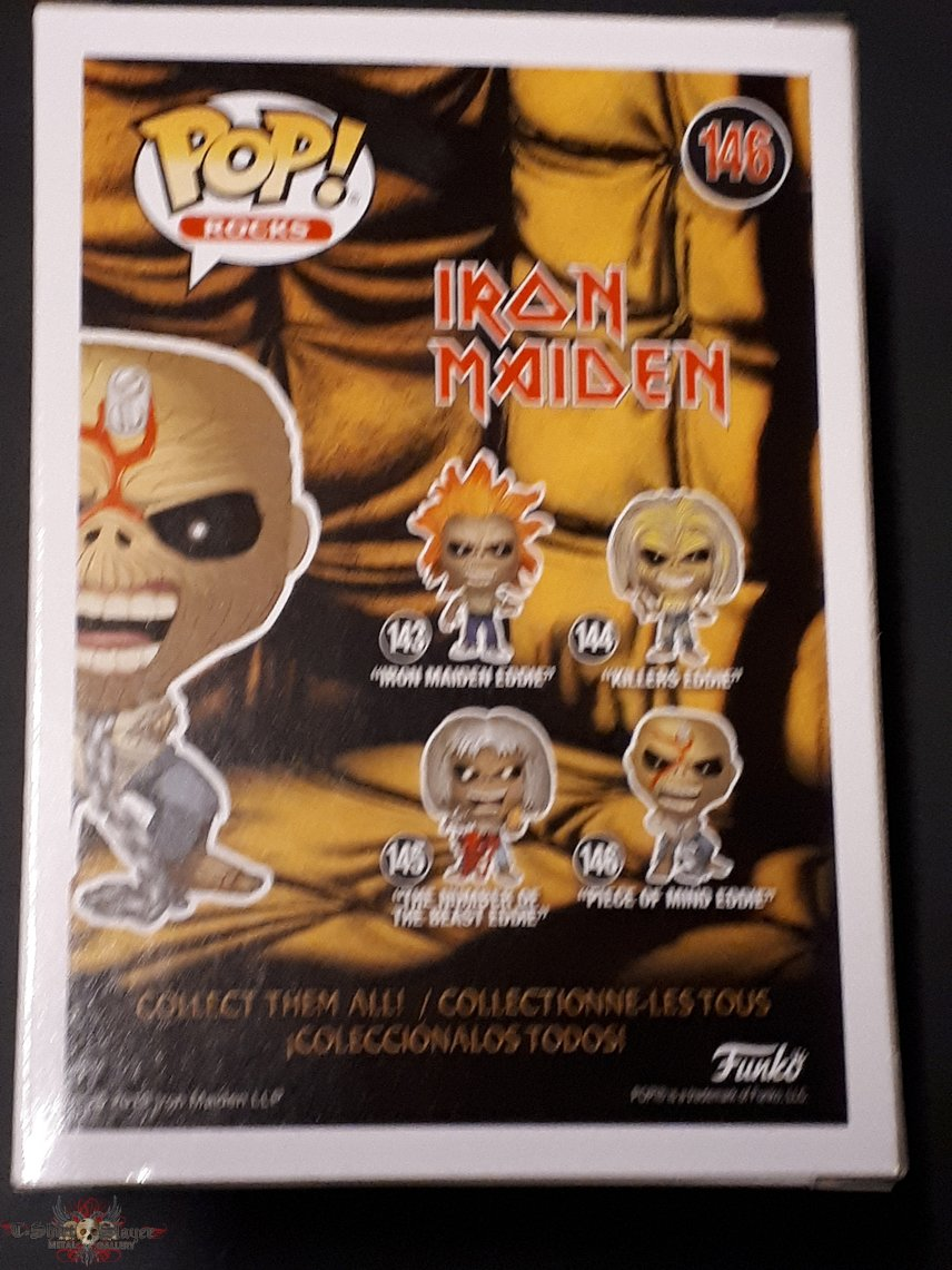 Iron Maiden - Piece of mind Eddie pop vinyl figure