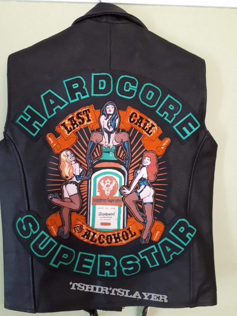 Hardcore Superstar Diy leather vest