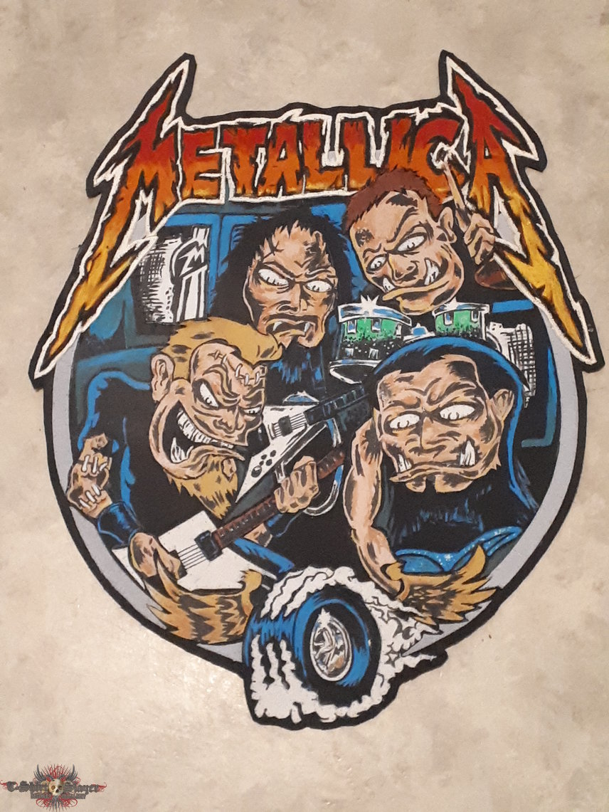Metallica backpatch
