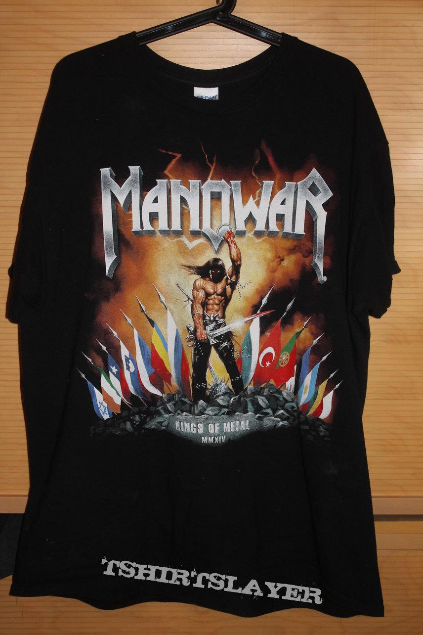 Manowar T-Shirt rare | TShirtSlayer TShirt and BattleJacket Gallery