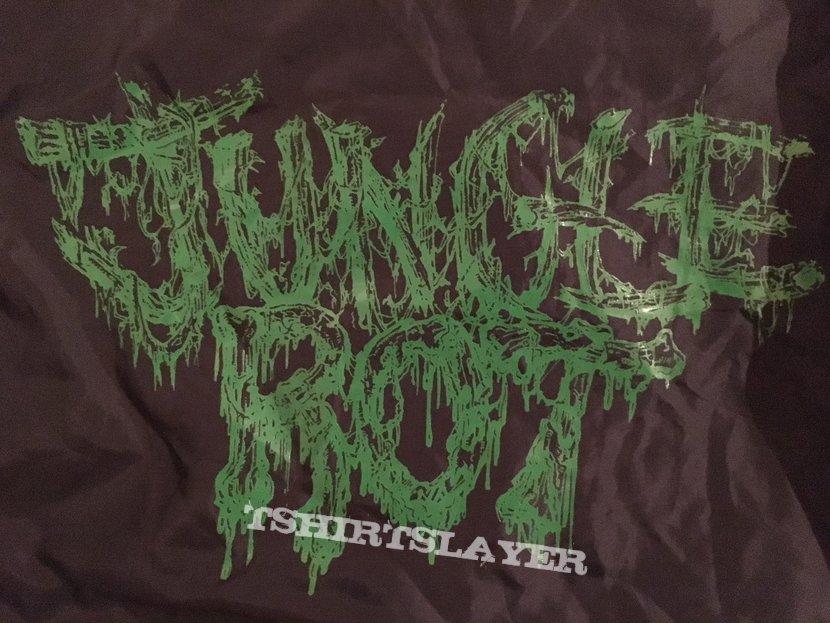 Jungle Rot Pure Death Records Windbreaker