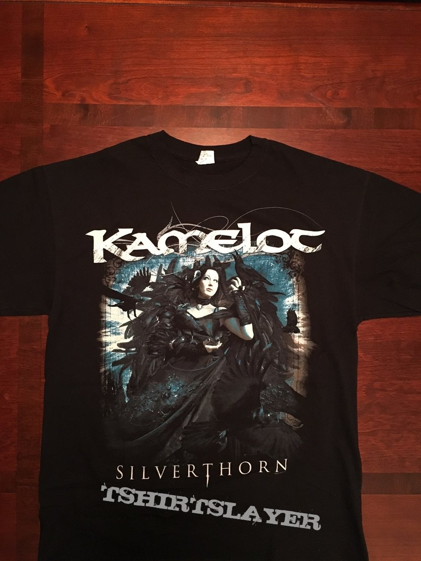 "Kamelot 'Silverthorn"" North America Tour T-Shirt 2013"