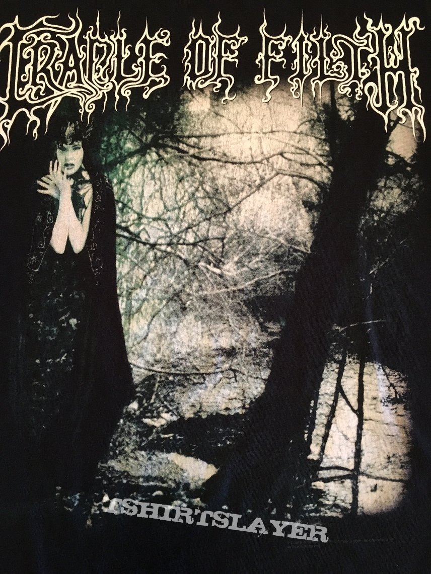 """Cradle Of Filth """"Dusk And Her Embrace"""" Album T-Shirt ..."""