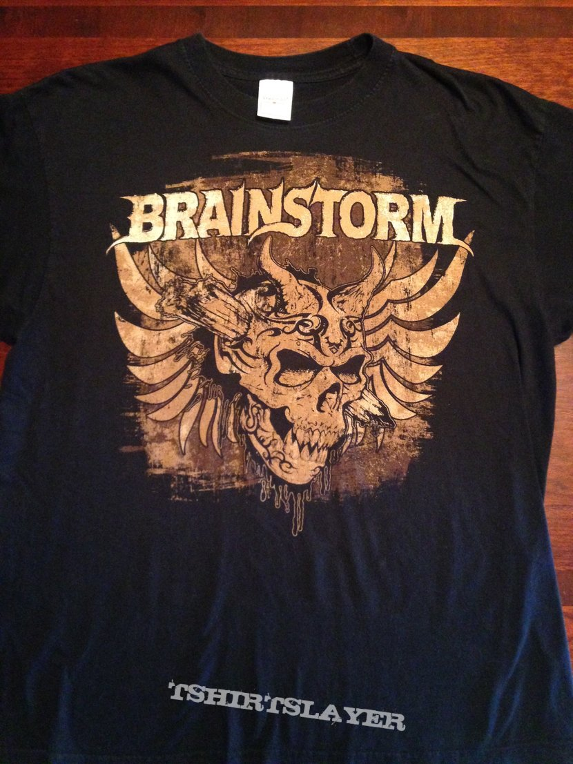 "Brainstorm ""Burns My Soul"" T-Shirt"