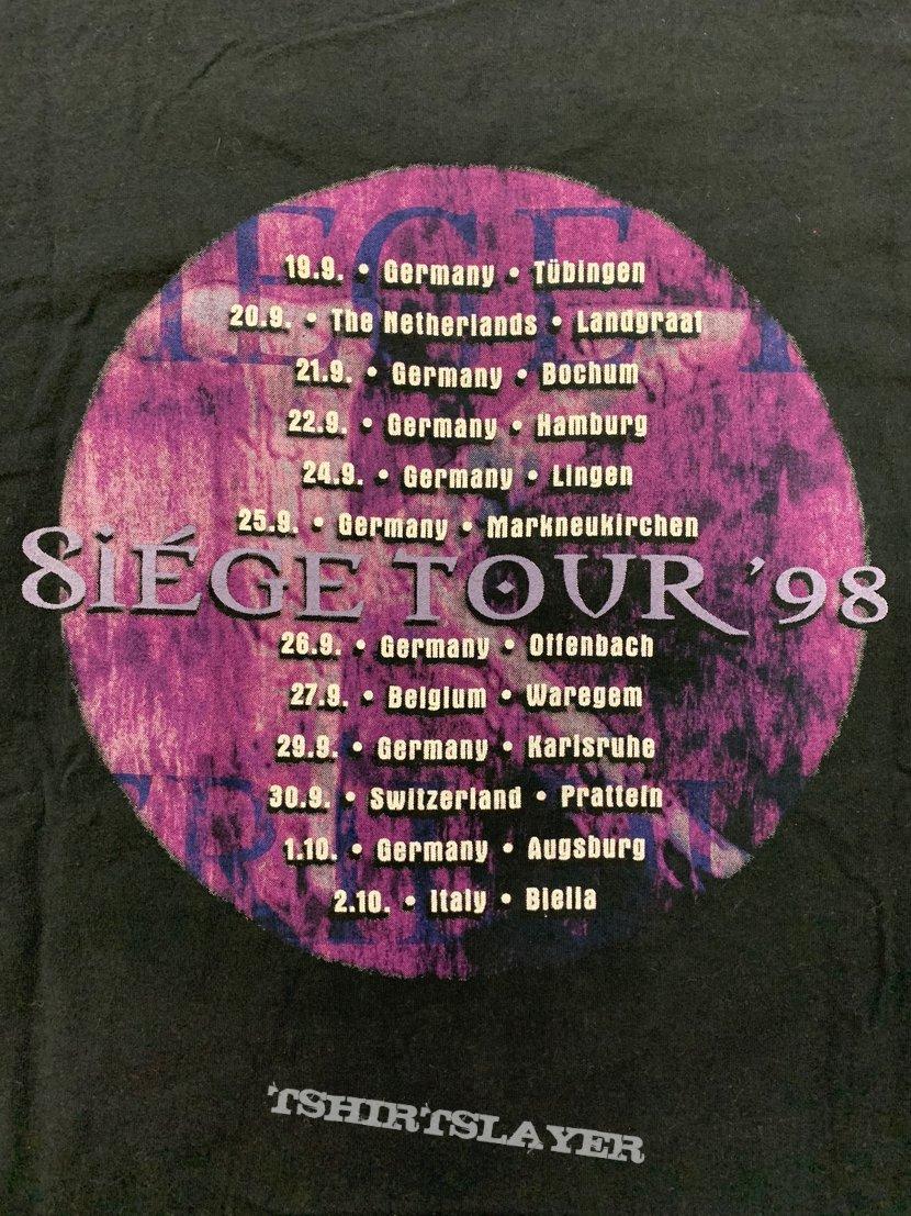"""Kamelot """"Siege Perilous Tour 1998"""" T-Shirt"""