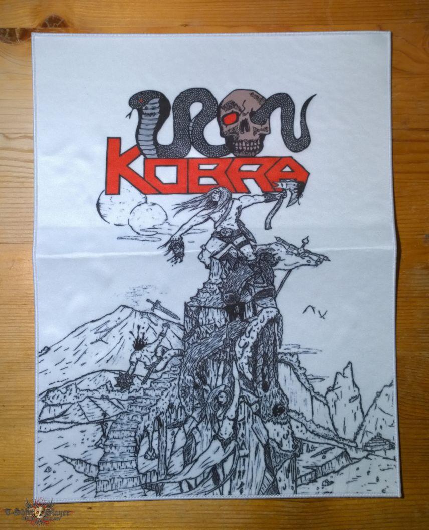 Iron Kobra backpatch
