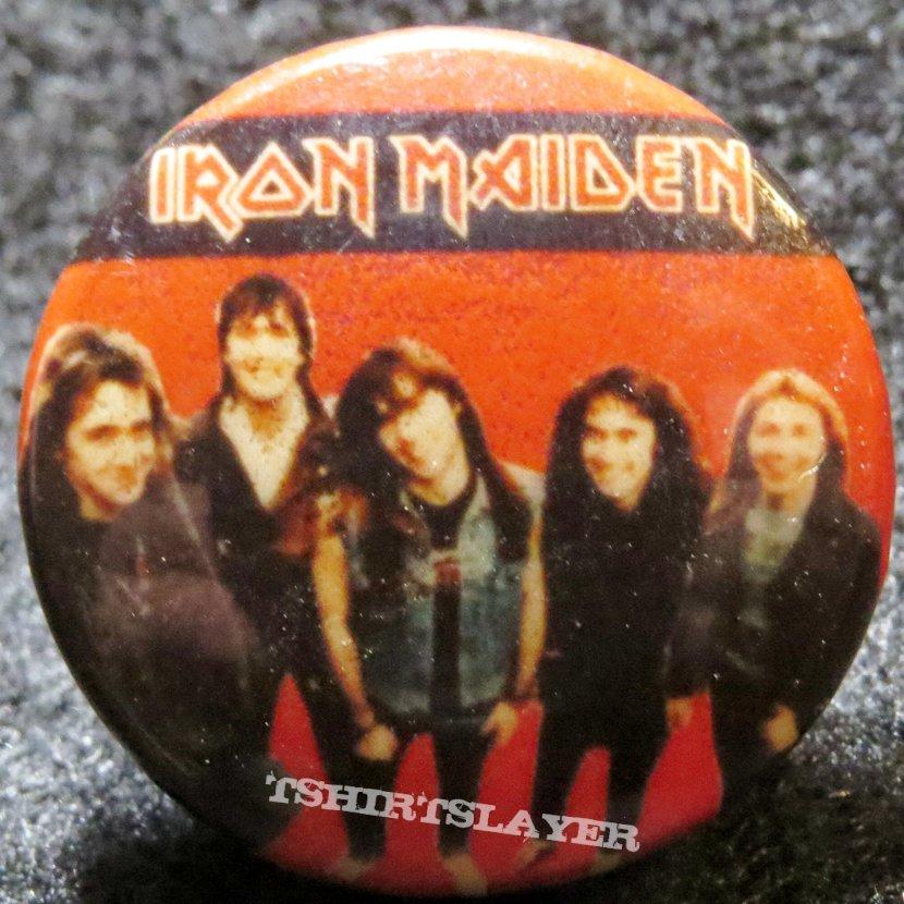 Iron Maiden button