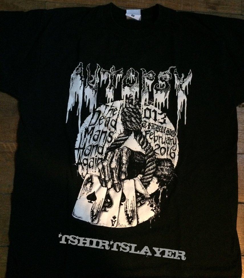 AUTOPSY Netherlands Deathfest event shirt