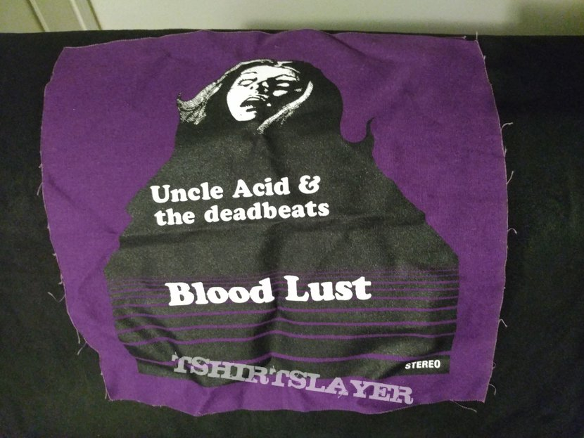 uncle  acid And the dead beats back patch  2019 peace across the wasteland tour.