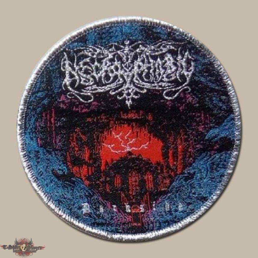 Necrophobic 'Dark Side' Round Woven Patch