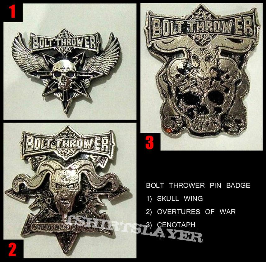 Bolt Thrower Metal Pins