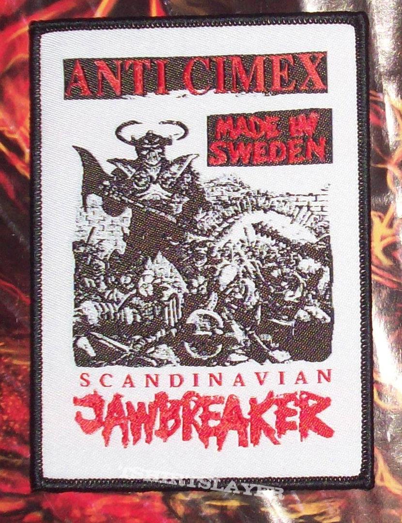 Anti Cimex 'Scandinavian Jawbreaker' Woven Patch