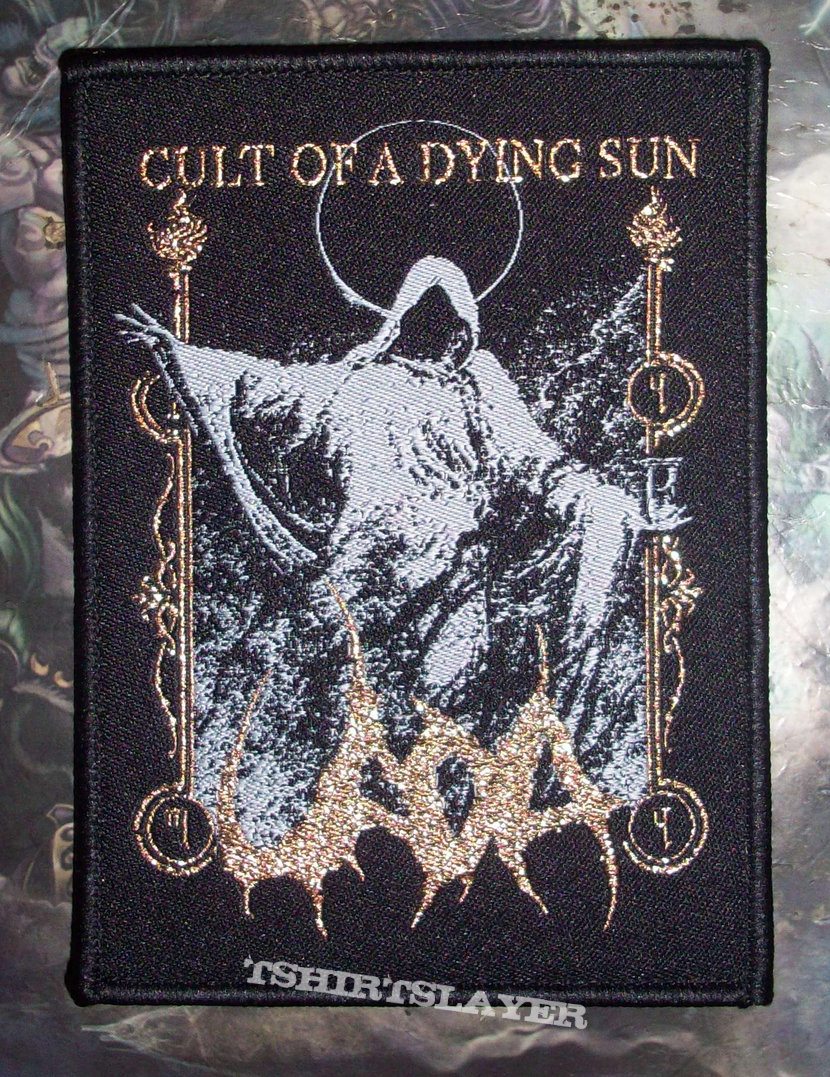 Uada Cult Of A Dying Sun Woven Patch