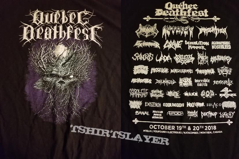 Quebec Deathfest Shirt