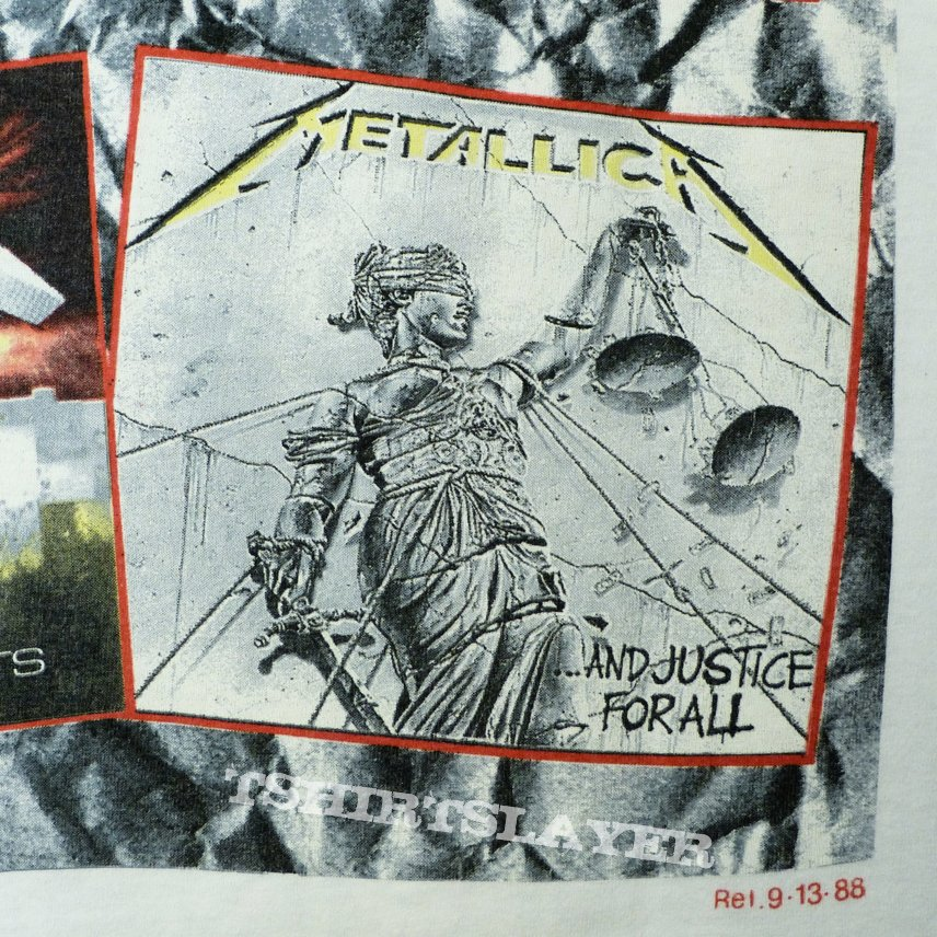 metallica and justice for all 1988 og amp stuff
