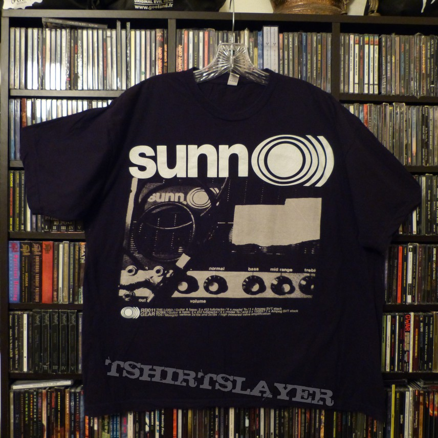 Sunn O))) - Amps Shirt 2008