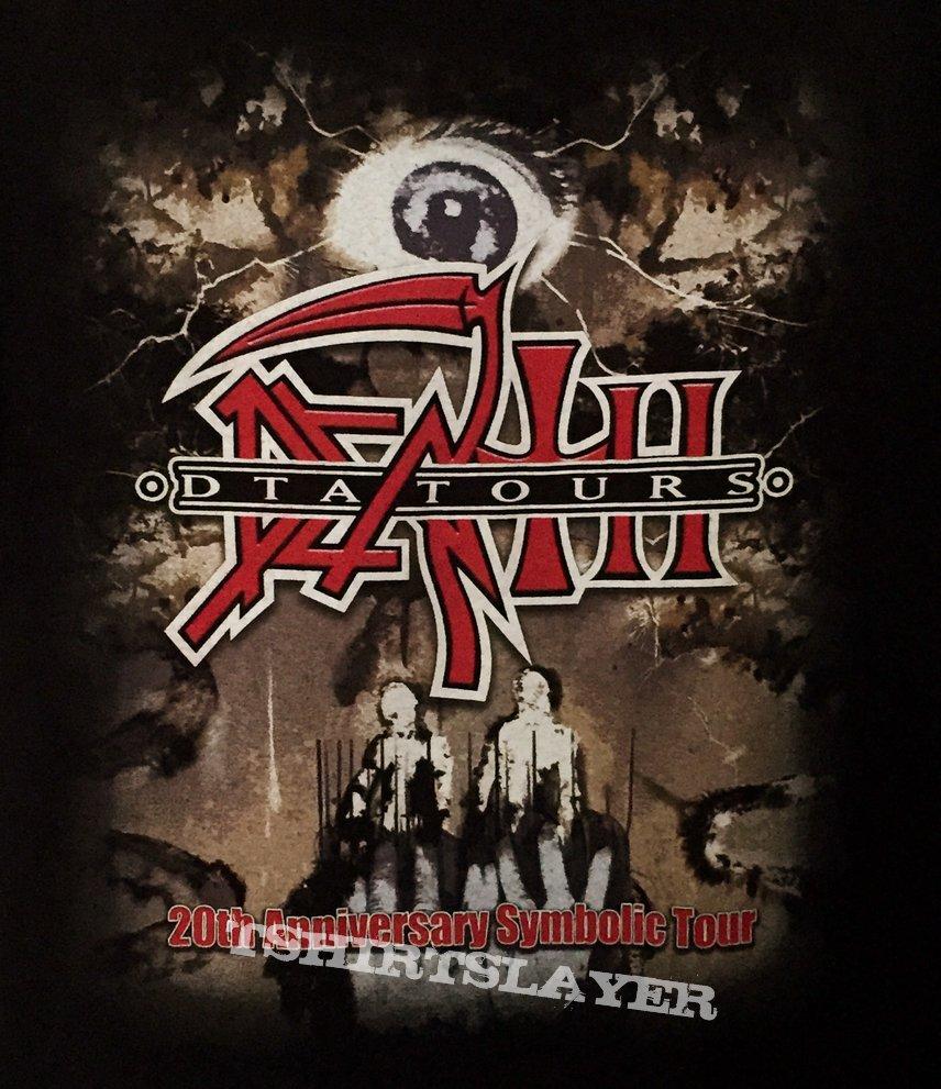 Death Dta 20th Anniversary Symbolic Euro Tour 2015 Tshirtslayer