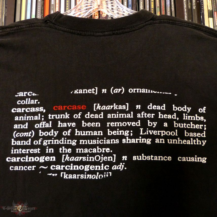 Carcass - Cavity Chest / Red Heart - Definition 1993