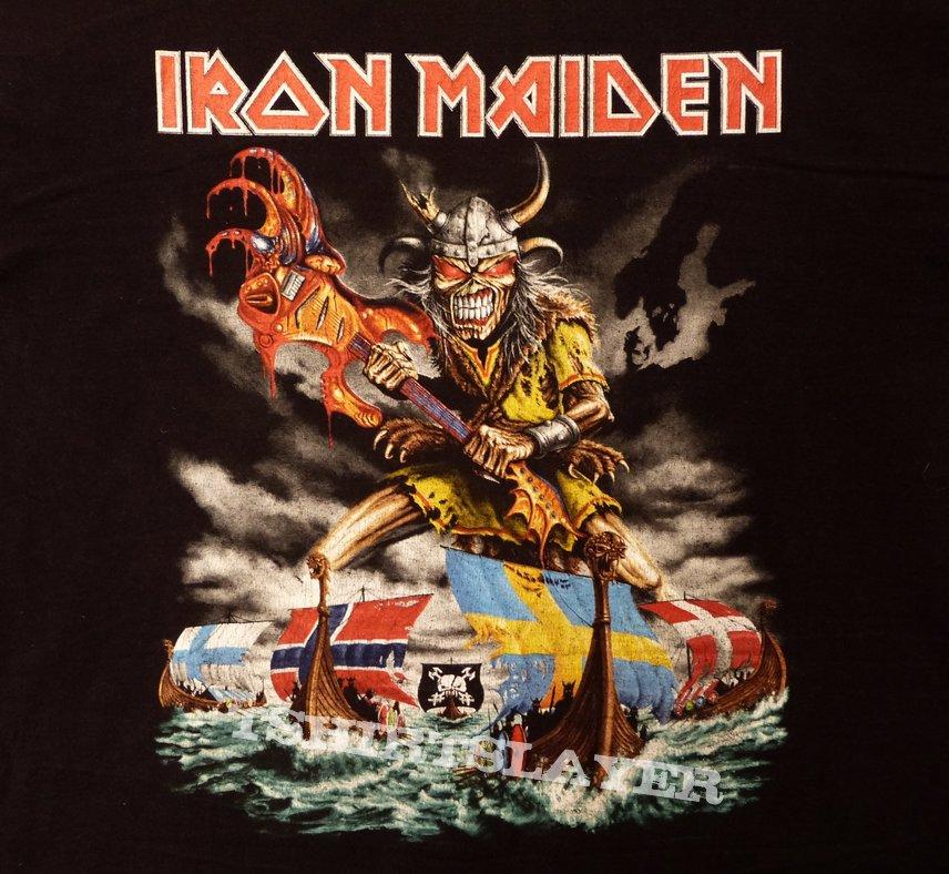 iron maiden the final frontier world tour 2011 scandinavian leg tshirtslayer tshirt and. Black Bedroom Furniture Sets. Home Design Ideas