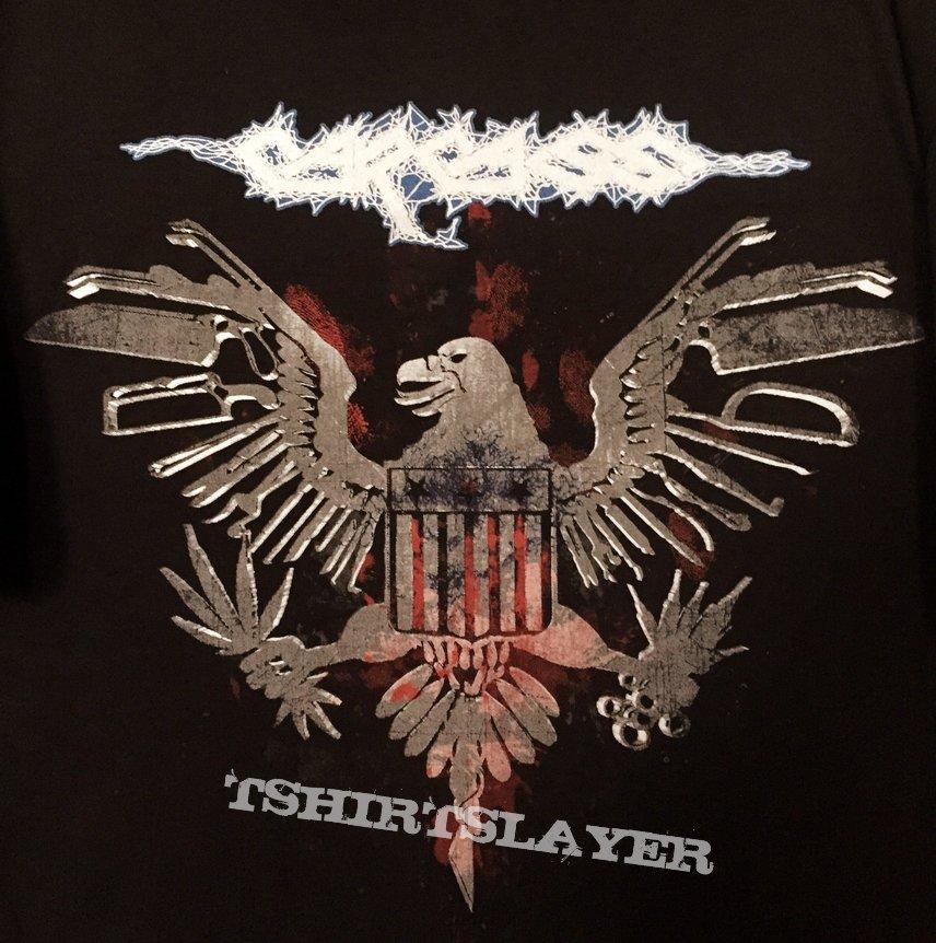 Carcass - 2016 Repenniless Tour Iron Tool Eagle