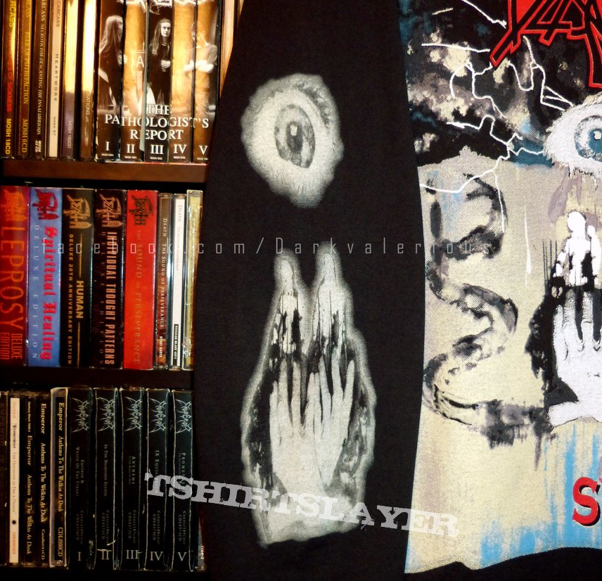Death Symbolic Metal To The Masses 1995 Tour Tshirtslayer