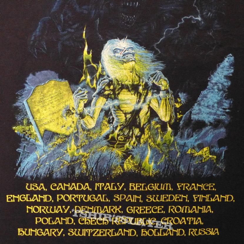 iron maiden european tour: