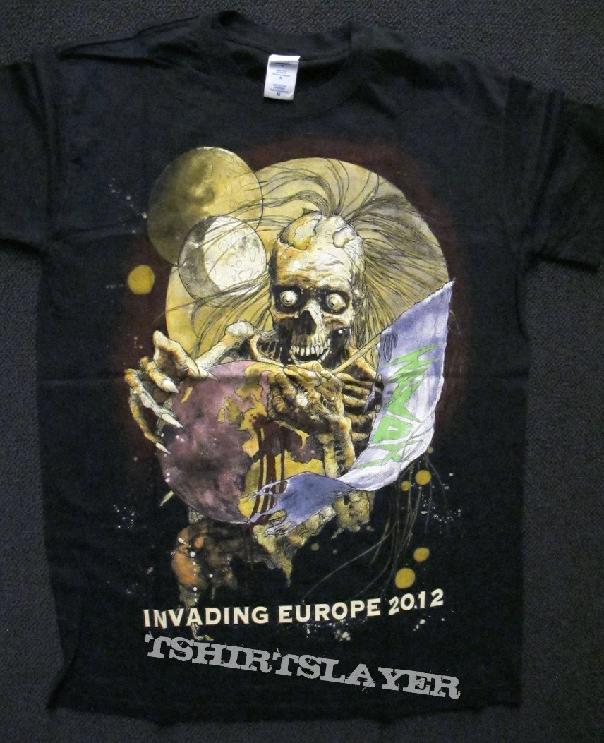 HAVOK - European Tour Shirt 2012